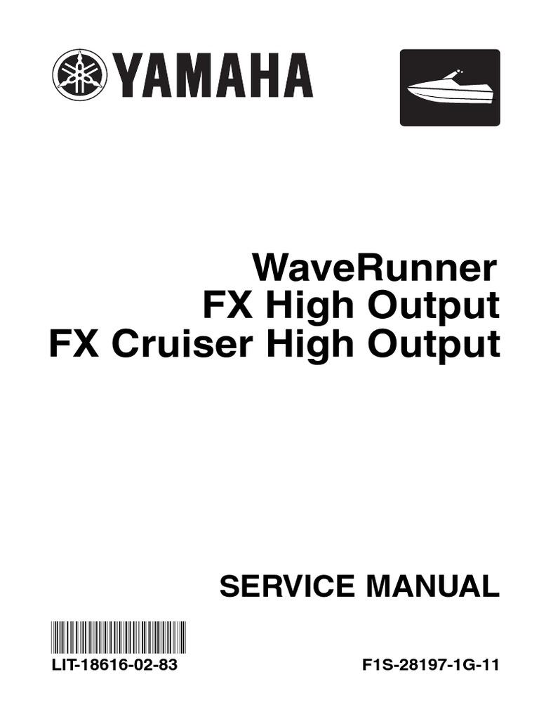 86406706 yamaha fx ho service manual pdf transmission mechanics rh scribd com 2008 yamaha fx cruiser ho service manual 2007 yamaha fx ho cruiser owners manual