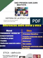 Historia de La Etica y La Bietica
