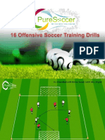 16 Offensive Soccer Training Drills