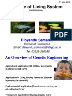 Genetic Engineering_D. Samanta_Nov 2016