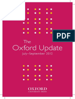 The Oxford Update July September 2012