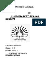 Supermarket Billing