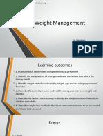 Weight Management 2016(1)