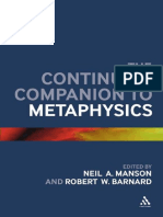 (Bloomsbury Companions) Neil A. Manson, Robert W. Barnard (eds.)-The Continuum Companion to Metaphysics-Bloomsbury Academic (2012).pdf