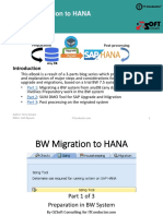 SAP BW Migration to HANA-eBook