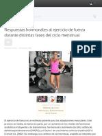 Entrenamiento, actividad física y ciclo menstrual 4