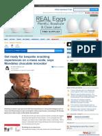 """גיל הורסקי ל:FoodNavigator.com – """"שוק החטיפים העולמי בדרך להתאמה אישית"""""""