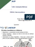 Aula 3 e 4_InstalaçõesElétricas_UNIFAVIP