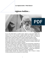 Cauza Si Originea Bolilor Peter Deunov