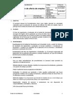 Proyecto Final de la catedra Gestión de La Calidad. Difusión de oferta de empleo