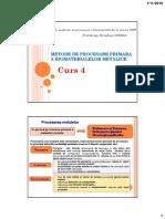 Curs 5-6-Procesarea Primara a Biomaterialelor Metalice