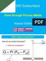 Flow in Porous Media Overview (Oct 2014)