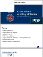 Uniform Presentation, USCG Auxiliary
