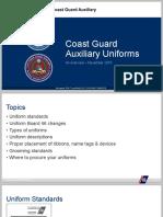 Uniform Presentation, USCG Auxiliary