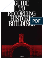 ICOMOS UK Guide to Recording Hist Blgs
