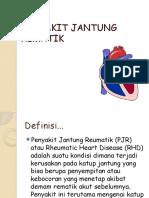 PJR-penyakit jantung rematik
