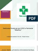 Gestiunea Fiscala Pe Anul 2015 NiKaPlus