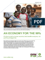 Oxfam Economy for 99 Percent Paper