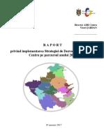 Raport de activitate al ADR Centru pentru anul 2016