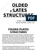 Folded Plates Structures