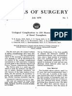 26.- 1970 Urological Complications in 216 Human Recipients of Renal Transplants