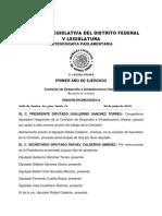 Dictaminación del Proyecto de PDDU 2010 para Tlalpan