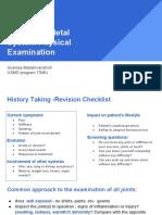 Msk Exam Study