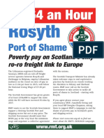 Rosyth Port of shame
