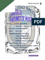 Geologia Salida de Campo a Monterrey