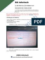 Manual de Instalação. Camera Re Sandero