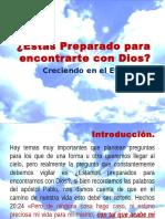 Estas Preparado Para Encontrarte Con Dios