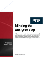 Minding the Analytics Gap