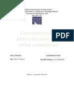Características Estructurales Del Pavimento