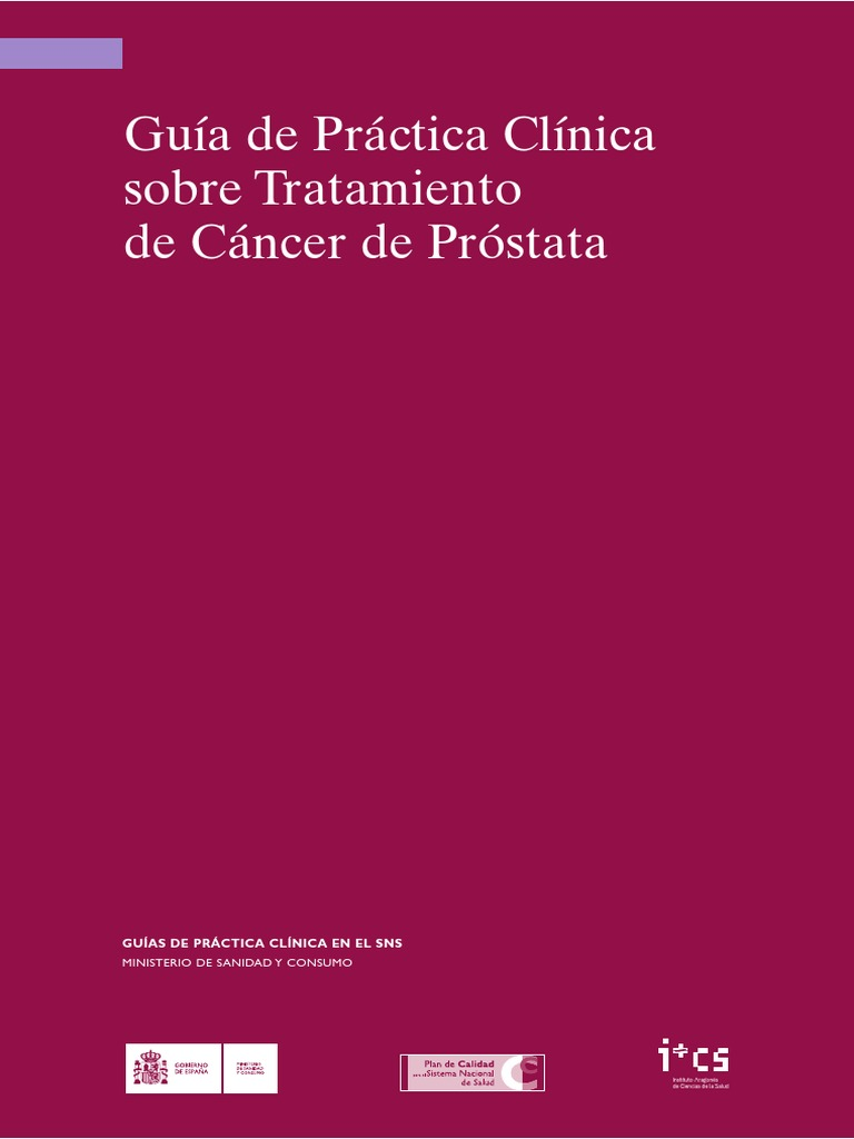 tratamiento en cancer de prostata pdf