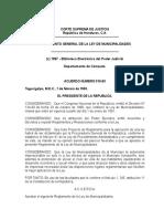 Reglamento General de La Ley de Municipalidades
