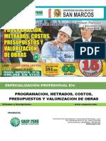 Brochure de Metrados Sg4ydrd
