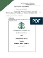 Instrucciones Trabajo Final OPT POLPUB