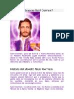 Quién Es El Maestro Saint Germain