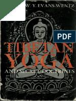 Evans Wentz Tibetan Yoga and Secret Doctrines