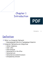 Chapter 1 - Computer Networks and the Internet