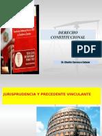 Jurisprudencia y precedente vinculante