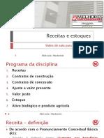SLIDE AULA - Receitas e Estoques V3
