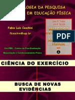Metodologia da Pesquisa PosGraduação FMU2010