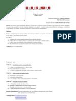 Teorias Ps-coloniais - Plano de Curso 2013-1