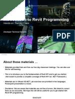 01-Revit API Programming Introduction