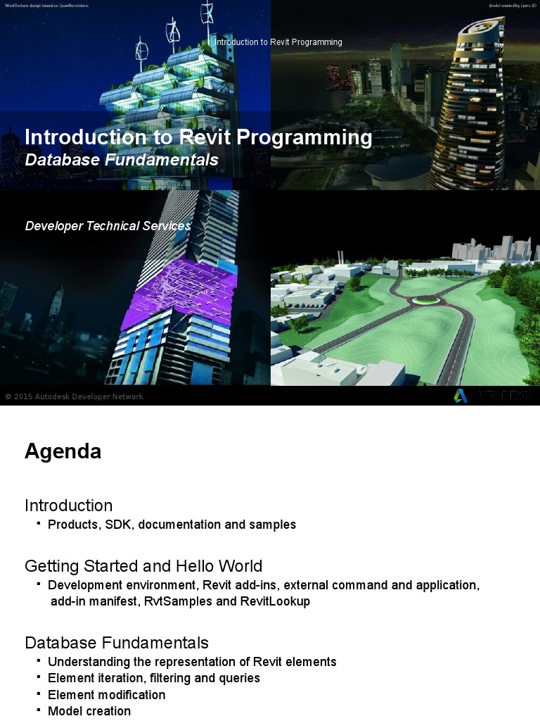 02-Revit API Programming Introduction | Autodesk Revit | Application