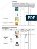 Lista bibliográfica Metas Educação Literária_1º Ano