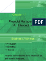 Introduction to Finaancial Management