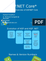 AspDotNetCore Intro MVC WebAPI ShahedChowdhuri