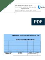 Mc - Mec - 001 Rev 0 (Calculo Hidraulico - Aguas Acidas)